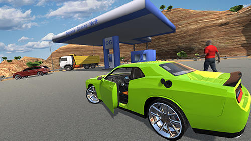 Screenshots von Muscle car challenger für Android-Tablet, Smartphone.