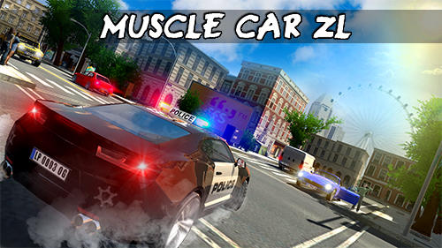 Muscle car ZL poster