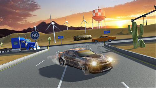 Muscle car ZL screenshot 1