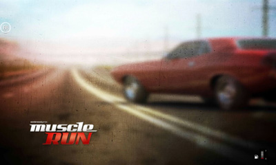 Muscle run poster