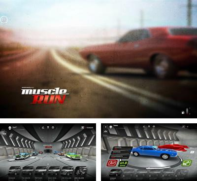 In addition to the game Car Club: Tuning Storm for Android phones and tablets, you can also download Muscle run for free.