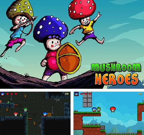 In addition to the game Pet paradise: Bubble shooter for Android phones and tablets, you can also download Mushroom heroes for free.