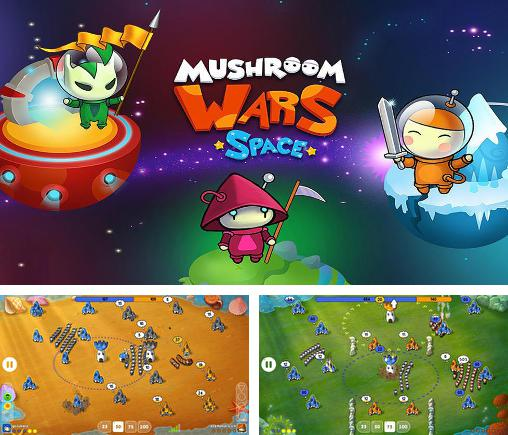 In addition to the game Mushroom war for Android phones and tablets, you can also download Mushroom wars: Space for free.