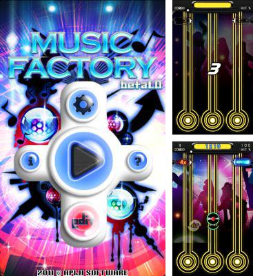 In addition to the game Dance Legend. Music Game for Android phones and tablets, you can also download Music Factory for free.
