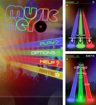 In addition to the game Tap tap revenge 4 for Android phones and tablets, you can also download Music Hero for free.