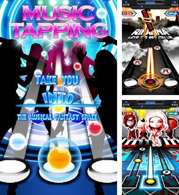 In addition to the game Tap tap revenge 4 for Android phones and tablets, you can also download Music Tapping for free.