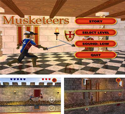 In addition to the game Draky and the Twilight Castle for Android phones and tablets, you can also download Musketeers for free.