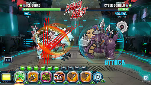 Jogue Mutant fighting arena para Android. Jogo Mutant fighting arena para download gratuito.