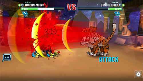 Screenshots von Mutant fighting arena für Android-Tablet, Smartphone.