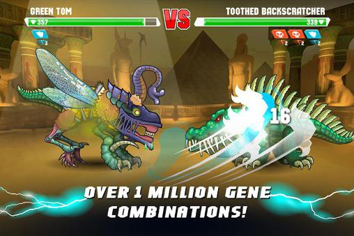 Screenshots von Mutant fighting cup 2 für Android-Tablet, Smartphone.