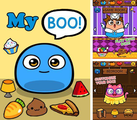 In addition to the game My Cat - Virtual Pet for Android phones and tablets, you can also download My Boo for free.