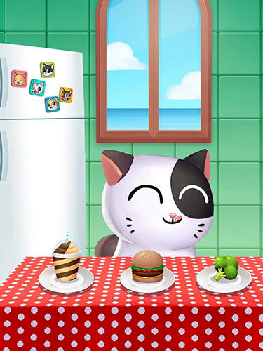 My cat Mimitos 2: Virtual pet with minigames скриншот 2