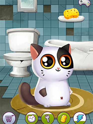 My cat Mimitos 2: Virtual pet with minigames картинка из игры 3