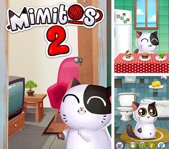 My cat Mimitos 2: Virtual pet with minigames обложка