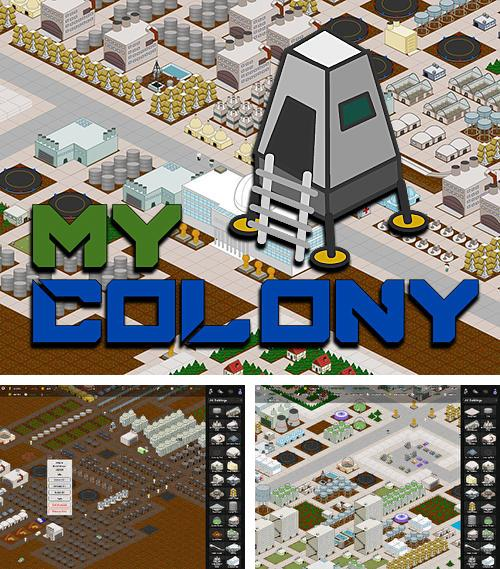 In addition to the game Prison architect for Android phones and tablets, you can also download My colony for free.