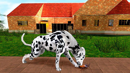 Capturas de pantalla de My dalmatian dog sim: Home pet life para tabletas y teléfonos Android.