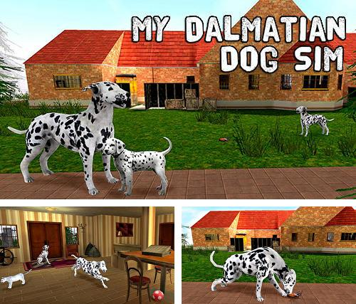 My dalmatian dog sim: Home pet life