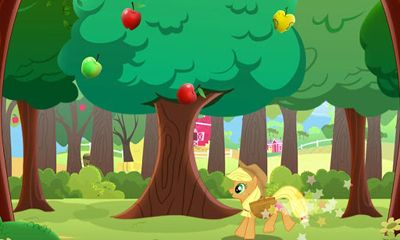 Screenshots of the My Little Pony for Android tablet, phone.