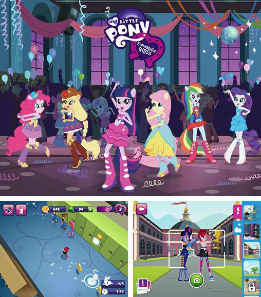 Zusätzlich zum Spiel Tappily Ever After für Android-Telefone und Tablets können Sie auch kostenlos My little pony: Equestria girls, My Little Pony: Equestria Girls herunterladen.