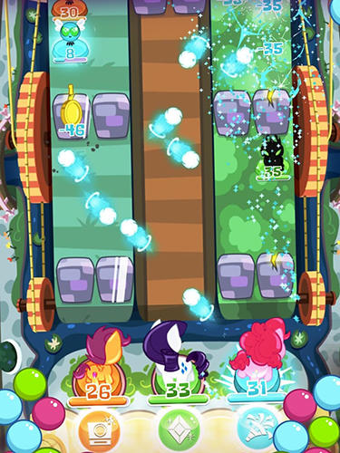 Screenshots do My little pony: Pocket ponies - Perigoso para tablet e celular Android.