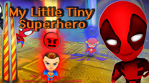 My little tiny superhero: Cartoon emoji simulator обложка