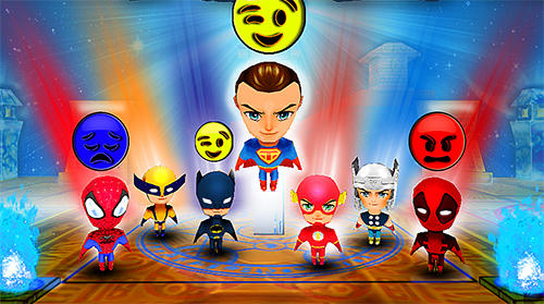 My little tiny superhero: Cartoon emoji simulator картинка из игры 3