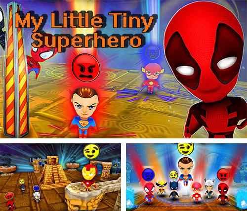 My little tiny superhero: Cartoon emoji simulator
