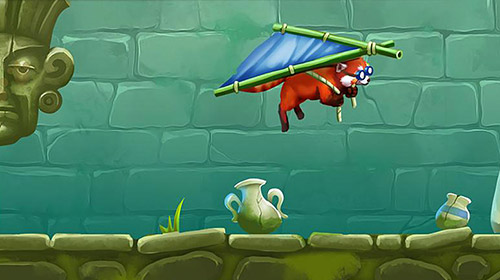 Screenshots do My red panda: Your lovely pet simulation - Perigoso para tablet e celular Android.
