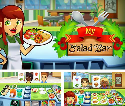 My salad bar: Healthy food shop manager