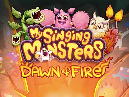 My singing monsters: Dawn of fire poster