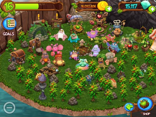 My singing monsters: Dawn of fire screenshot 1