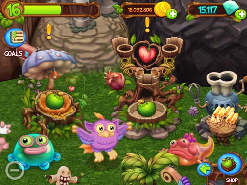 My singing monsters: Dawn of fire screenshot 2