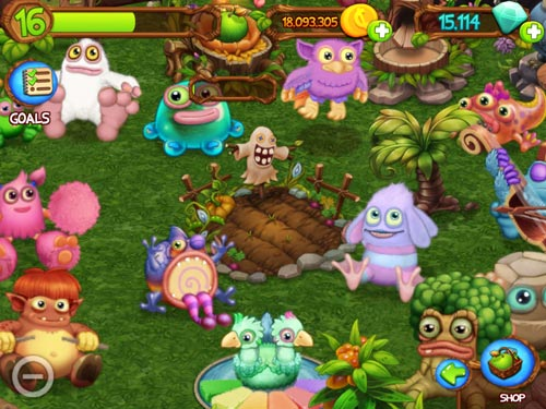 My singing monsters: Dawn of fire screenshot 3