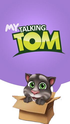 My talking Tom poster