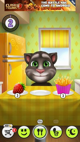 Screenshots von My talking Tom für Android-Tablet, Smartphone.