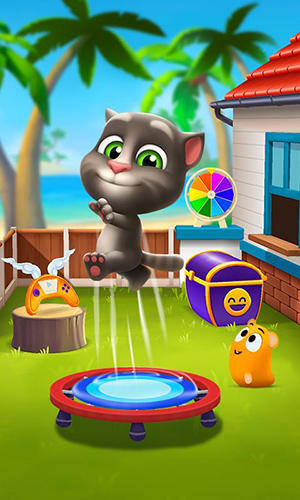 Screenshots von My talking Tom 2 für Android-Tablet, Smartphone.