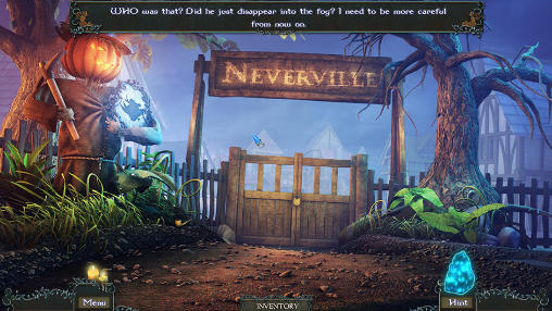 Kostenloses Android-Game Mysterien von Neverville: Reise der versteckten Gegenstände. Vollversion der Android-apk-App Hirschjäger: Die Mysteries of Neverville: A hidden object journey für Tablets und Telefone.