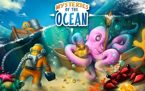 Mysteries of the ocean poster