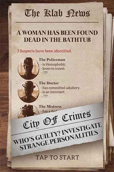 Mystery case files: Crime city screenshot 3