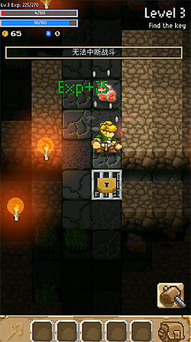 Download Grue the monster: Roguelike underworld RPG Android free game.