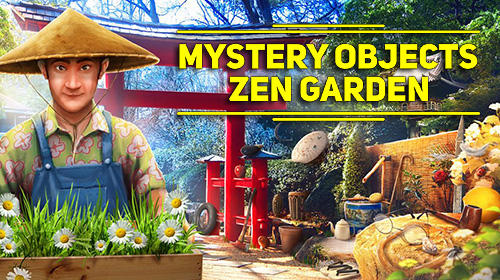 Mystery objects zen garden