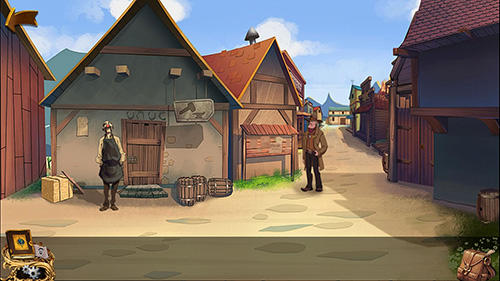 Android タブレット、携帯電話用Mystery of New western town: Escape puzzle gamesのスクリーンショット。