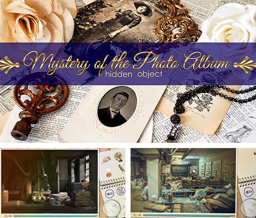 Mystery of the foto album: Hidden object. Puzzle