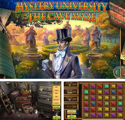 In addition to the game Bathory: The bloody countess for Android phones and tablets, you can also download Mystery university: The cave maze for free.