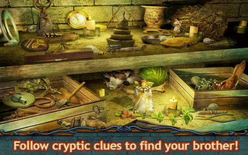 Screenshots von Mystic diary 3: Missing pages - Hidden object für Android-Tablet, Smartphone.
