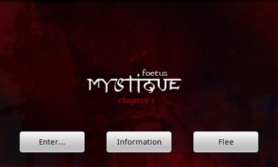 Mystique. Chapter 1 Foetus