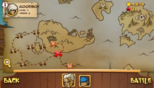 Kostenloses Android-Game Mythen der Piraten. Vollversion der Android-apk-App Hirschjäger: Die Myth of pirates für Tablets und Telefone.