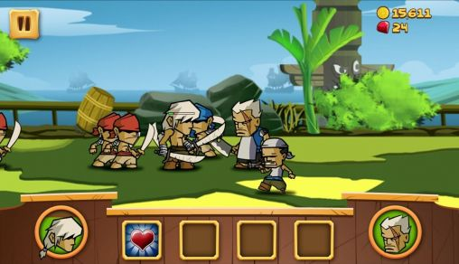 Screenshots von Myth of pirates für Android-Tablet, Smartphone.