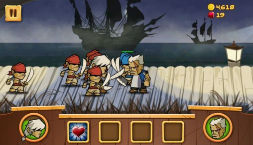 Screenshots von The pirates: Caribbean conflict für Android-Tablet, Smartphone.
