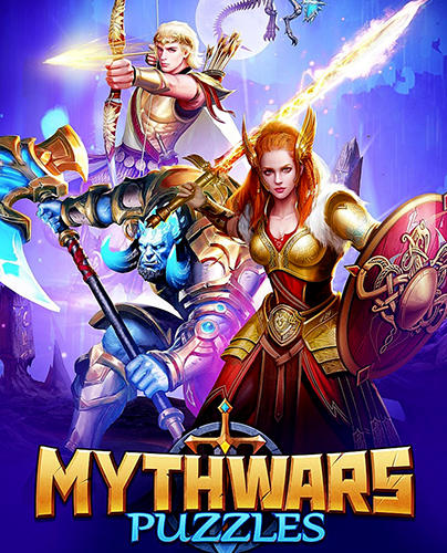 Myth wars and puzzles: RPG match 3 poster